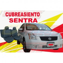 Cubreasiento Nissan (A) Sentra Speeds Kit Completo A Medida.